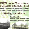 Retour sur la 2ème rencontre internationale autour du Plessage - le 12 septembre à Yzernay (49)