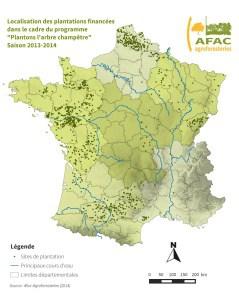 localisation plantations yves rocher
