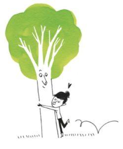 dessin tree hug