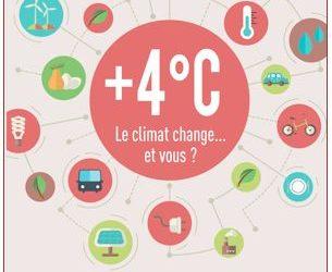 Publication : « +4°C : le climat change… et vous ?»