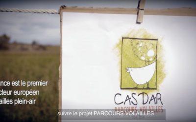 Vidéo du projet CASDAR parcours volailles