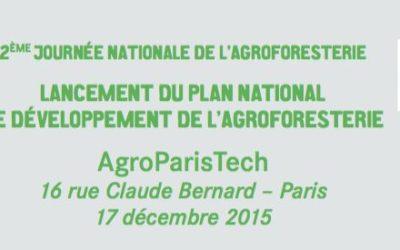 Journée nationale de l'agroforesterie – 17 décembre 2015