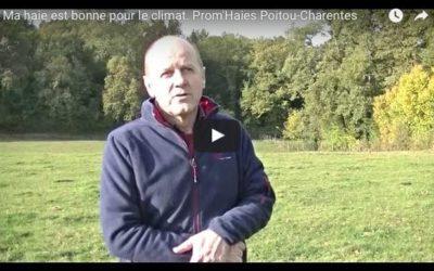 Vidéo de témoignages «ma haie est bonne pour le climat» !