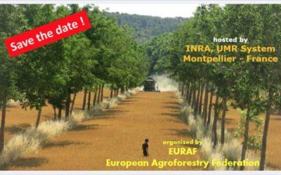 3ème Congrès Européen d'Agroforesterie,  23 au 25 mai 2016