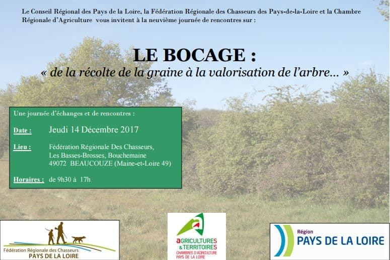 9ème journée d'échanges et de rencontre sur le bocage, en Pays de la Loire