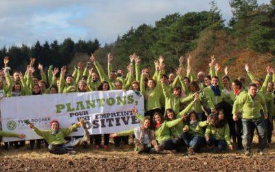 Retour sur la tournée annuelle des animations-plantation avec la Fondation Yves Rocher
