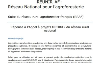 Réponse à l'Appel à projets MCDR#2 du réseau rural  national