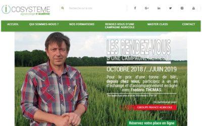 Icosystème lance «Les rendez-vous d'une campagne agricole» 🗓