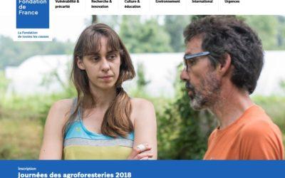 12 et 13 septembre 2018 – 4èmes Rencontres des agroforesteries tempérées