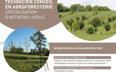 Le CFPPA de l'Aube recrute pour sa spécialisation Technicien Conseil en Agroforesterie (SIL TCA)