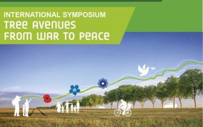 Les allées d'arbres, de la guerre à la paix : colloque international, 12 & 13 novembre 2018