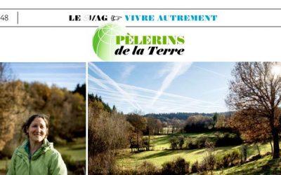 Portrait de Sylvie Monnier dans le magazine Le Pélerin