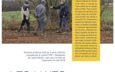 """""""Les haies et les arbres champêtres """" – articles parus dans la lettre de l'arboriculture"""