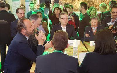 Présentation d'Icosystème au Premier Ministre et au Ministre de l'agriculture, à l'invitation de VIVEA 🗓 🗺