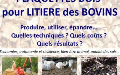 Journée technique : Plaquettes bois pour litière des bovins 🗓 🗺