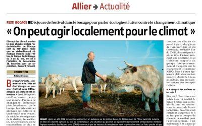Festi-Bocage : dix jours de festival autour du bocage, de l'écologie et du changement climatique dans l'Allier 🗓 🗺