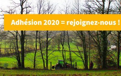 Adhésion 2020 à l'Afac-Agroforesteries