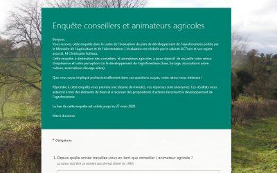 Evaluation du plan de développement de l'agroforesterie : donnez votre avis !