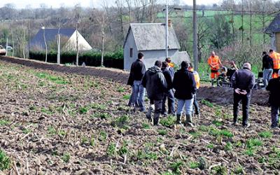 En direct des territoires – Les agriculteurs et la Fédération des associations de boisement de la Manche se mobilisent pour dynamiser la plantation de haies