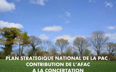 Nouvelle étape dans l'élaboration du Plan Stratégique National de la PAC : découvrez la contribution de l'Afac