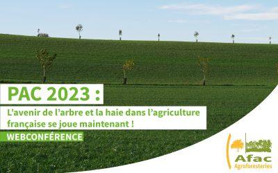 WEBCONFÉRENCE | PAC 2023 : l'avenir de l'arbre et la haie dans l'agriculture française se joue maintenant !
