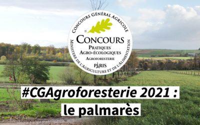 #CGAgroforesterie 2021 : le palmarès national 🗓